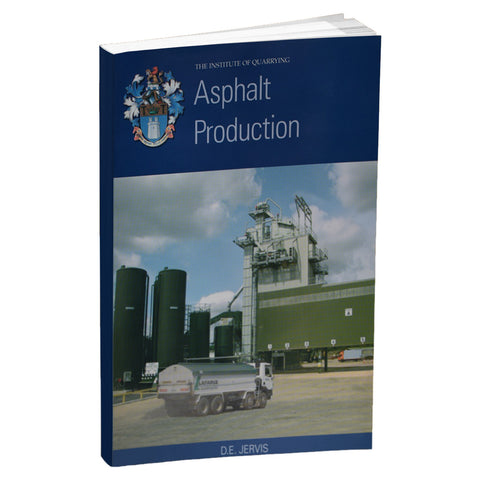 Asphalt Production book written by D.E Jarvis.