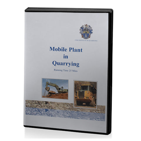 Mobile Plant in Quarrying DVD