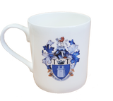White China Mug with Institute of Quarrying crest