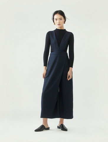 pinafore jumpsuit - midnight