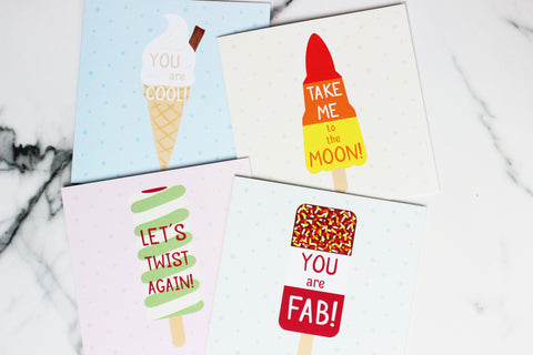 Summer Treats Greetings Card