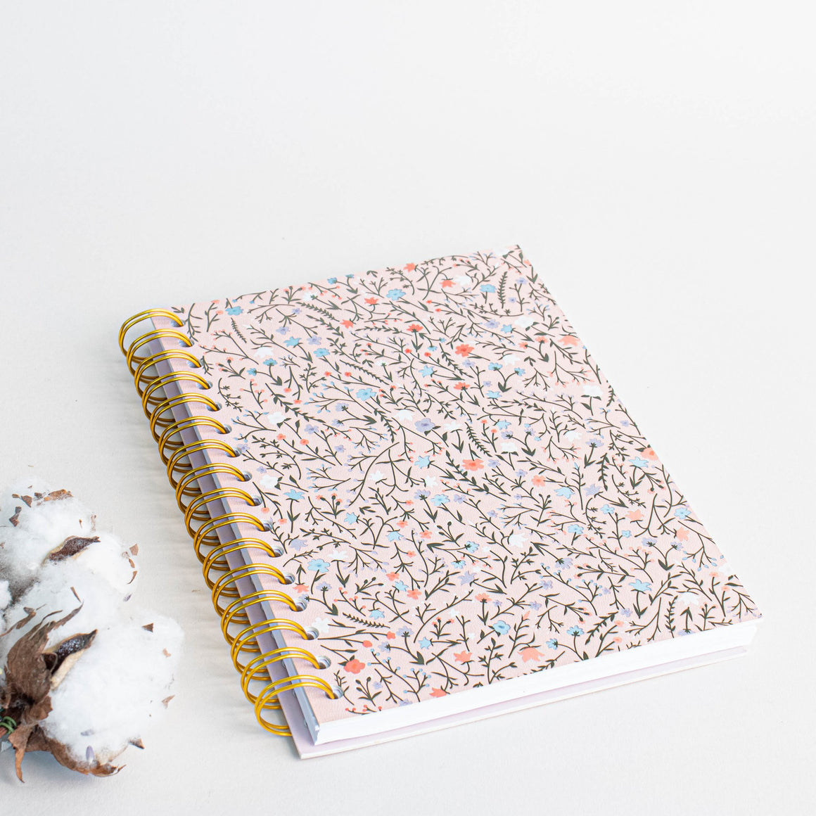Prickly Pear Ditsy Floral A5 PU Notebook