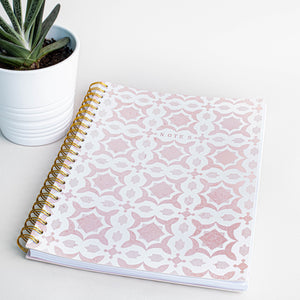Prickly Pear Mosaic A4 PU Notebook
