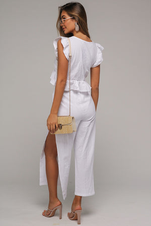 St Tropez Co-ord White