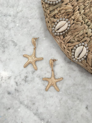 Nevada Star Fish Earrings