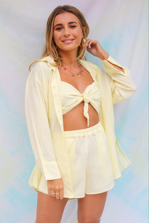 Dani Dyer Never Ending Summer Shirt Lemon