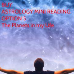 Astrology Mini Reading, Your Planets
