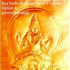 Jaimini Astrology Course (Vedic Astrology Level 3)
