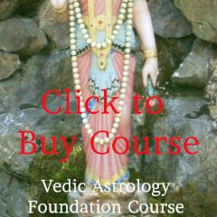 Learn Vedic Astrology, Foundation Course