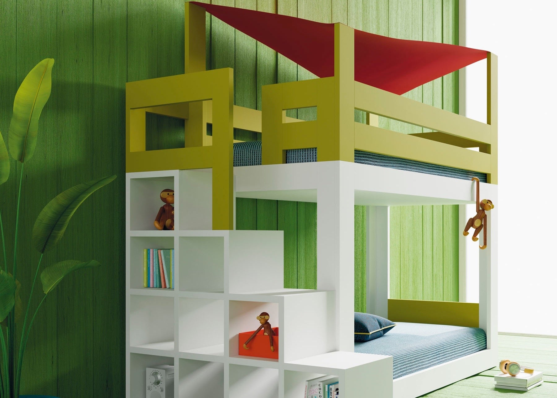 The Cottage bunkbed-Babateen Children's Furniture