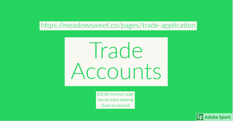 Trade Accounts now available.