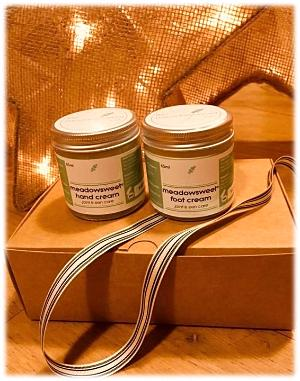 Hand and Foot Care Gift Box by The Meadowsweet Company