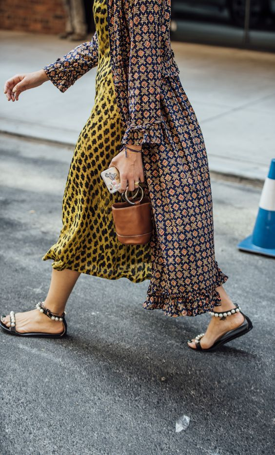 Styling Tips : Clashing Prints