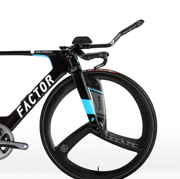 Factor SLICK time trial bike with Baden Cooke