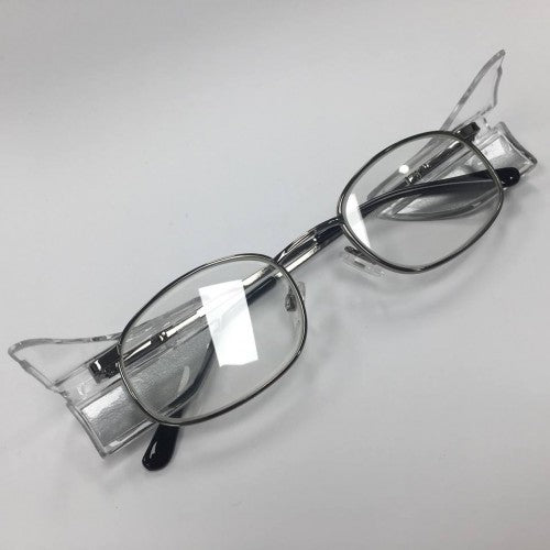 ProTech Medical Petite Gunmetal w/ Side Shields 0.50mm Lead Glass Radiation Safety Glasses - CLEARANCE
