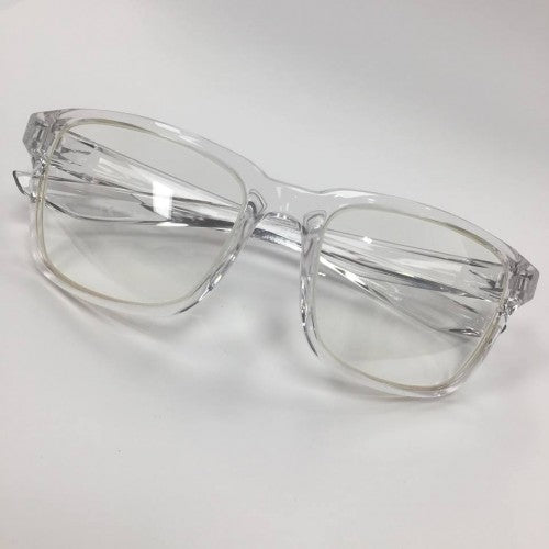 Nike Essential Spree, Crystal w/0.75mm Lead Glass Radiation Safety Glasses - CLEARANCE