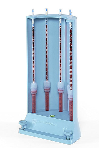 FH1705 : 5 Place Erythrocyte Sedimentation Rate ESR Pipette Stand by Guest Scientific AG