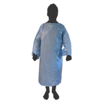ISOLATION GOWN - ECONOMY CPE AAMI LVL 3 TESTED - 50/BX