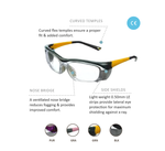 Leaders Lead Glasses, 0.75mm Lead glass front & 0.50mm Side strips