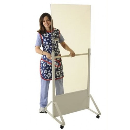 Full Leaded Acrylic Mobile Barrier - Lead Radiation & Imaging Safety