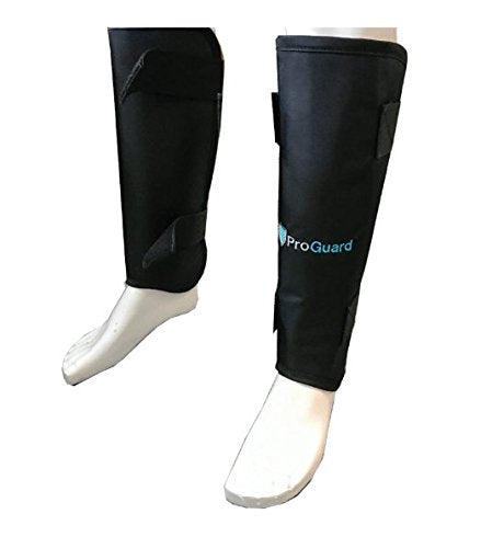 X-Ray Protective Leaded Shin Guards - 0.50mm LE Radiation safety