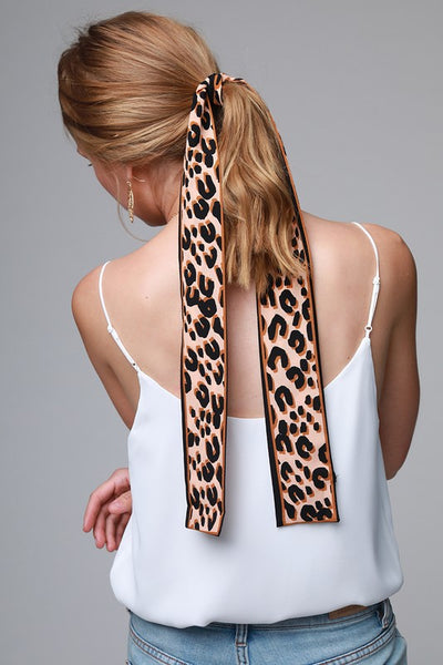 Original Leopard Hair Scarf