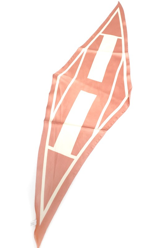 Blush Arrow Hair Scarf
