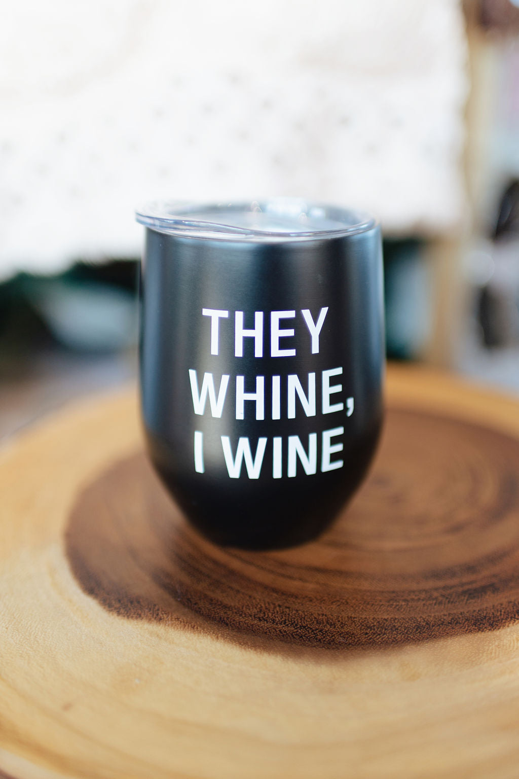 They Wine Thermal Stemless Wine Tumbler