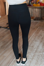 Black Butter Cut Out Leggings