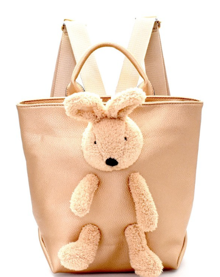 Gold Bunny Backpack