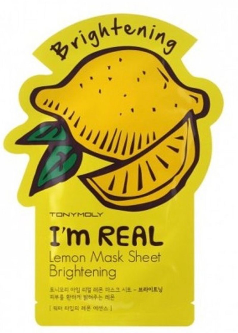 """I'm Real"" Lemon Brightening Mask"