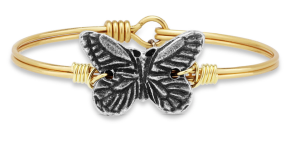 Butterfly, Petite, Gold, Luca + Danni