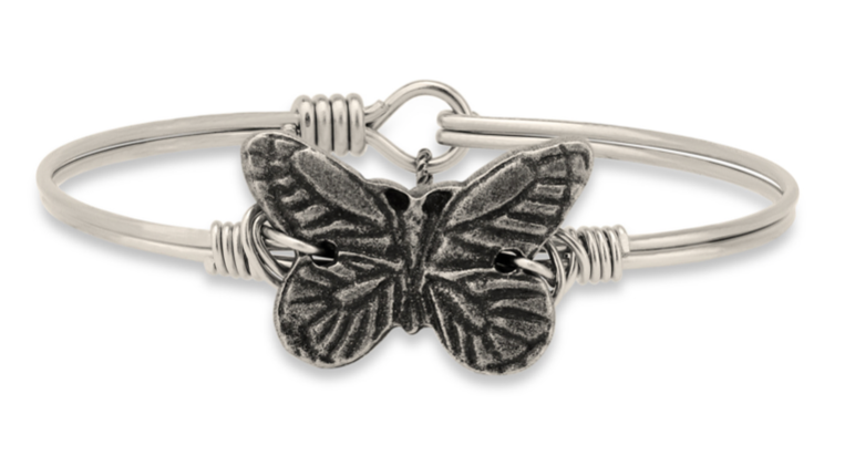 Butterfly, Regular, Silver, Luca + Danni