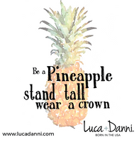 Pineapple, Regular, Gold, Luca + Danni