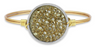 Swarovski Druzy In Metallic Champagne, Regular, Gold, Luca + Danni