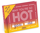 """Why You're So Hot"" Fill in the Love Journal"