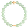 Charged Bracelet Aventurine and Gold
