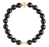 Charged Bracelet Onyx and Gold
