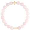 Charged Bracelet Rose Quartz and Gold