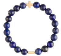 Charged Bracelet Lapis and Gold