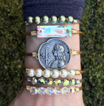 Joan of Arc, Petite, Gold, Luca + Danni