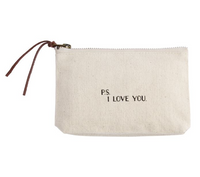 P.S. I Love You Cosmetic Bag