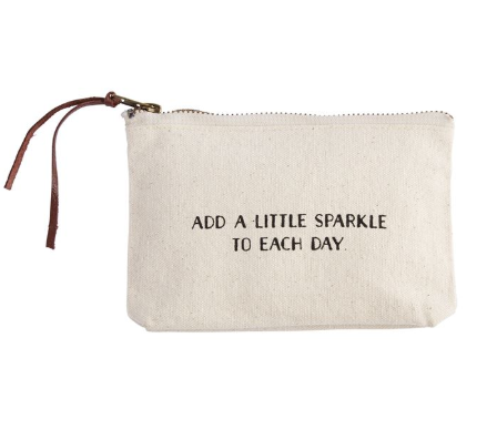 Add a Little Sparkle to Each Day Cosmetic Bag