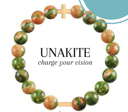 Charged Bracelet Unakite