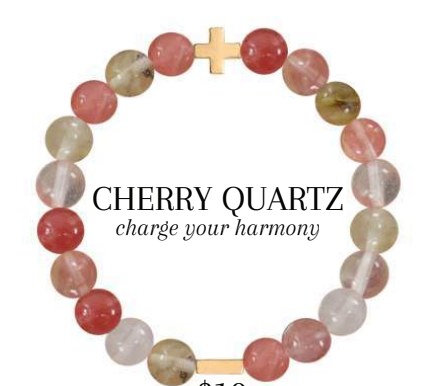 Charged Bracelet Cherry Quartz