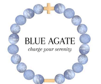 Charged Bracelet Blue Agate