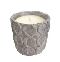 Grey Stone Candle - Unplug - Balsam and Cedar