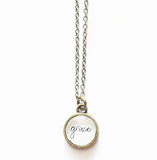 Grace Small Circle Necklace