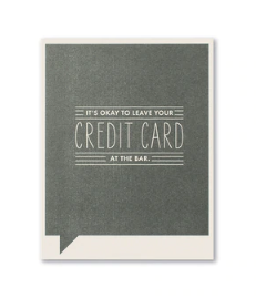 Frank & Funny Cards - CREDIT CARD