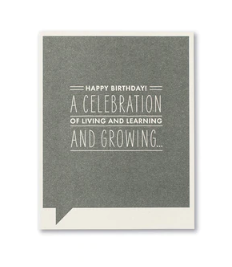 Frank & Funny Cards - A CELEBRATION AND GROWING